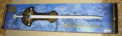 Dodatkowe zdjęcia: Miecz Aragorna LOTR Anduril The Sword of King Elessar