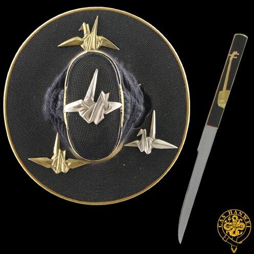 Dodatkowe zdjęcia: Miecz Hanwei Paper Crane Katana - Tamahagane