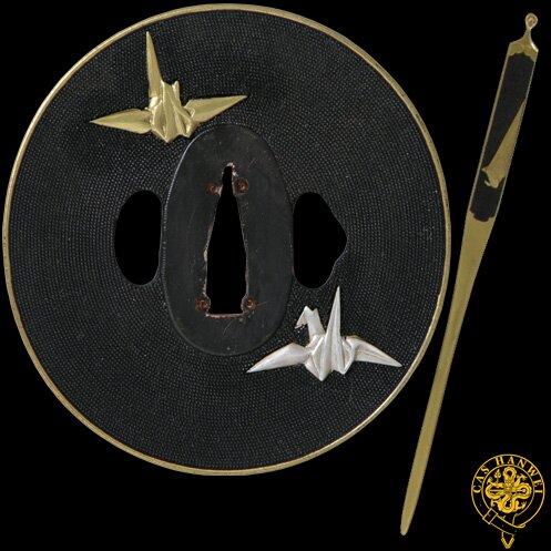 Miecz Hanwei Paper Crane Wakizashi - Tamahagane