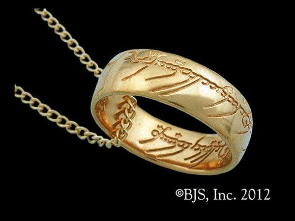 Dodatkowe zdjęcia: LOTR Gollum Gold Necklace