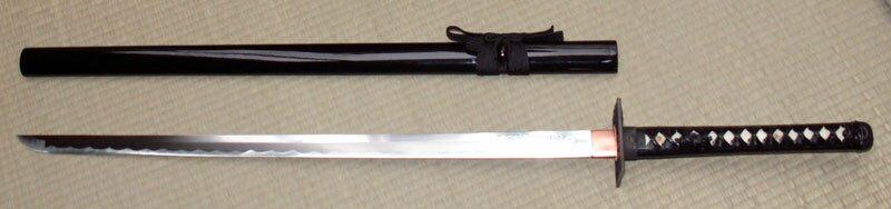 Miecz Ninja - Ten Ryu Hand Forged Ninja Sword Dragon