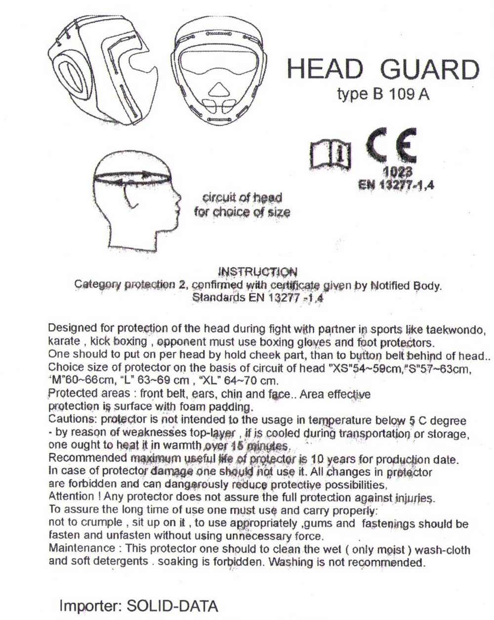 Dodatkowe zdjęcia: Biały kask z maską - sztuczna skóra