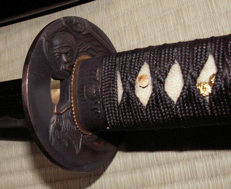 Miecz Ten Ryu Handmade Black Katana