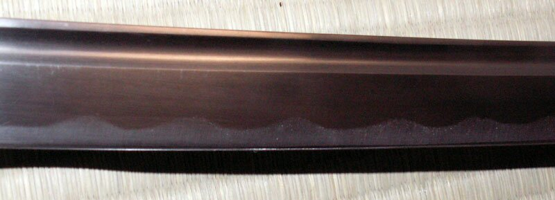 Miecz Ten Ryu Handmade Burgundy Katana