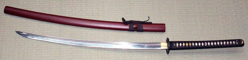 Miecz Ten Ryu Handmade Brown Musashi Katana