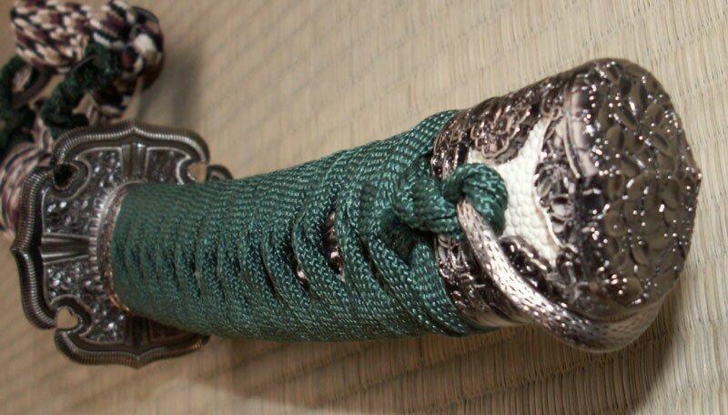 Dodatkowe zdjęcia: Miecz ozdobny Samurai Tachi Black