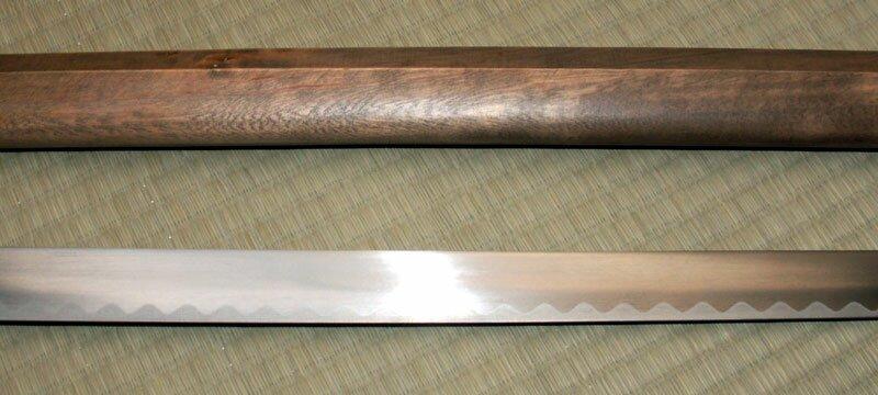 Dodatkowe zdjęcia: Samurai Wood Shirasaya sword