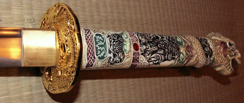 Dodatkowe zdjęcia: Kuta Katana z filmu Nieśmiertelny - Master Cutlery