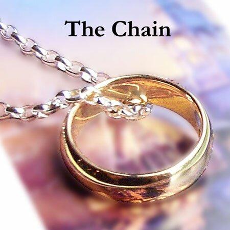 Dodatkowe zdjęcia: LOTR One Ring - srebrny łańcuszek Froda