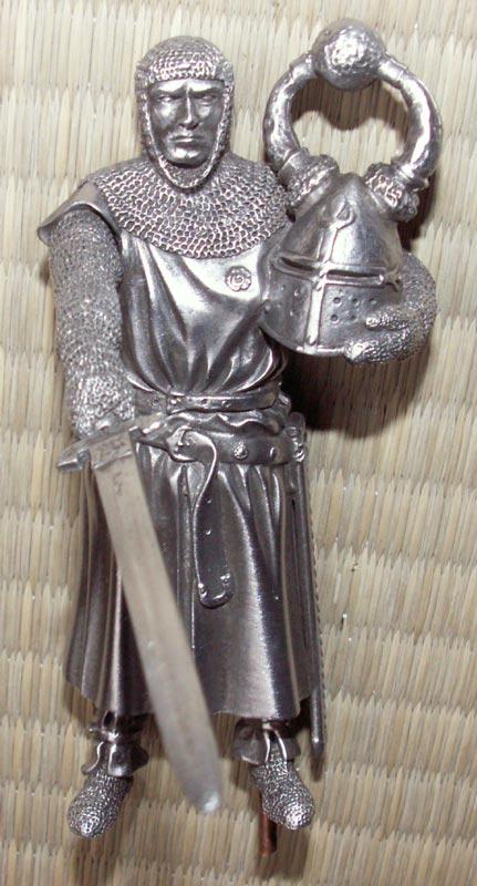 Dodatkowe zdjęcia: Figurka Sagramore - Rycerze Okrągłego Stołu - Les Etains Du Graal