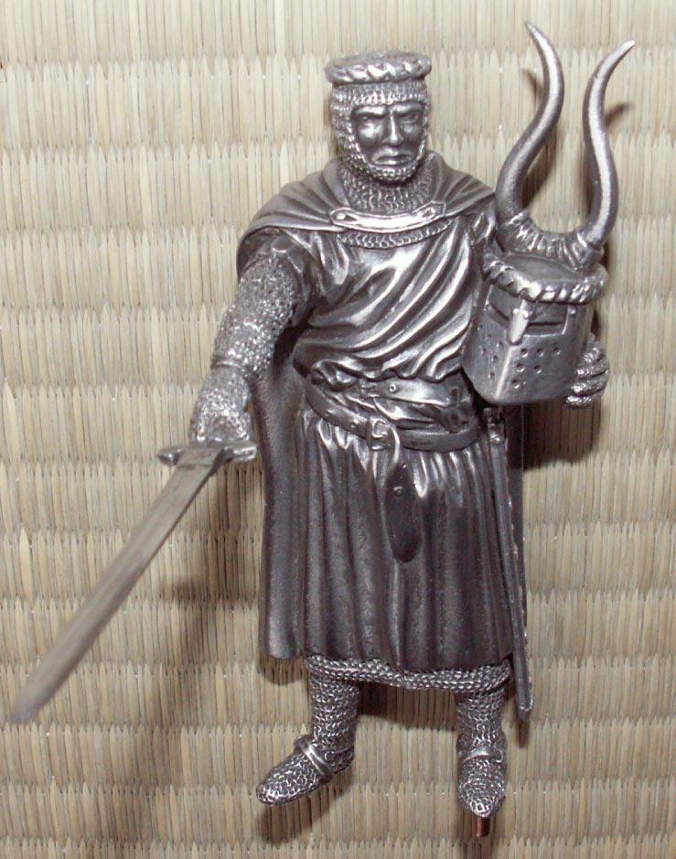 Dodatkowe zdjęcia: Figurka Bediwer - Rycerze Okrągłego Stołu - Les Etains Du Graal
