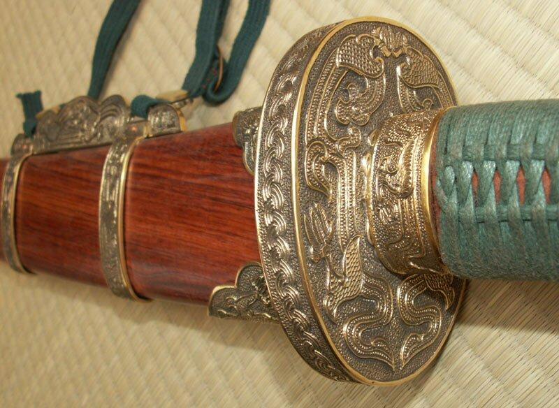 Szabla Dao Oxtail Saber (Niu Wei Dao) Dynasty Forge