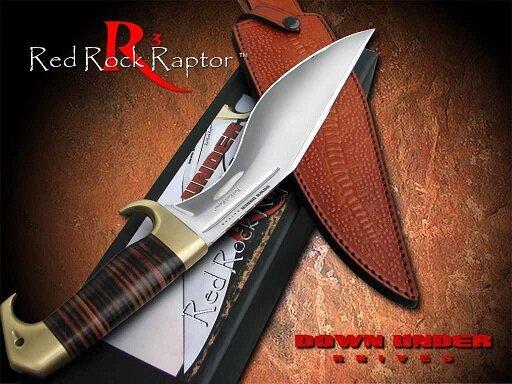 Nóż Down Under Knives RED ROCK RAPTOR