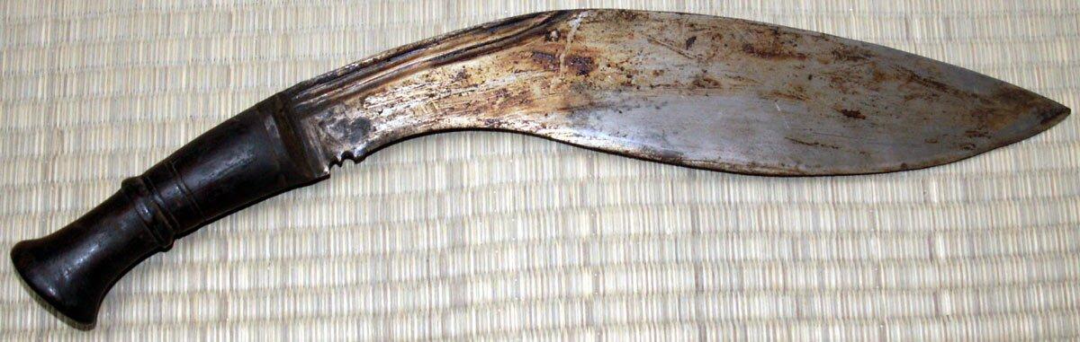 Dodatkowe zdjęcia: Nóż Gurkhów Traditional BhojPure Kukri Old Scabbard