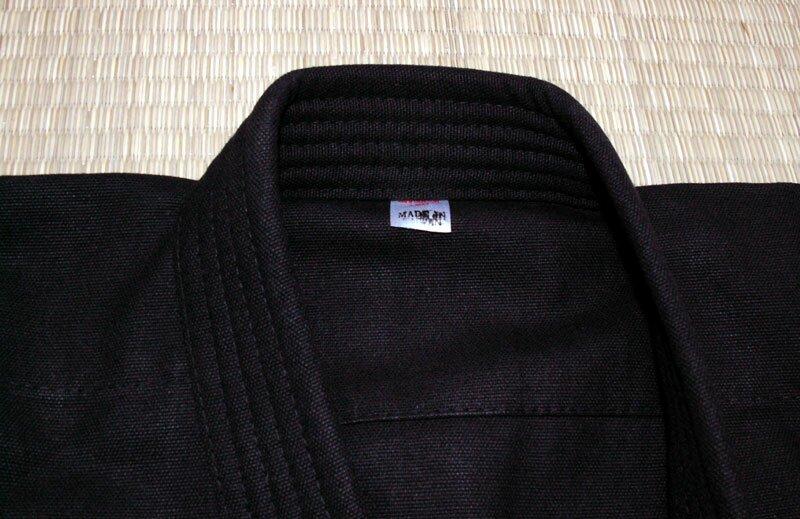 Dodatkowe zdjęcia: Karategi czarne 12oz - Kimono do karate