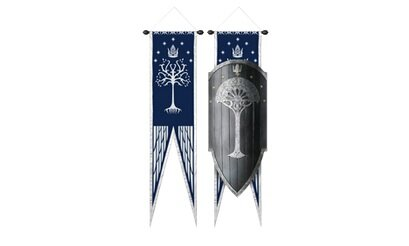 Dodatkowe zdjęcia: Tarcza Gondoru LOTR Second Age Gondorian War Shield