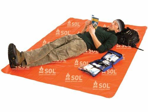 Dodatkowe zdjęcia: Blankiet Survivalowy - SOL Sport Utility Blanket