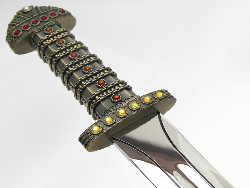 Dodatkowe zdjęcia: Miecz królów z filmu Wikingowie - Limited Edition