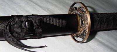 Samurai Sword - Antique Copper