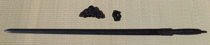 Dodatkowe zdjęcia: Treningowy miecz z tworzywa do Tai Chi