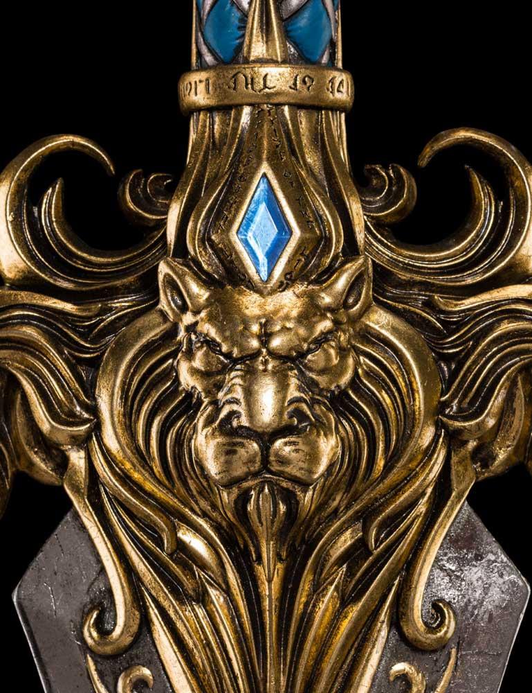 Dodatkowe zdjęcia: Miecz z filmu Warcraft The Sword of King Llane Weta workshop