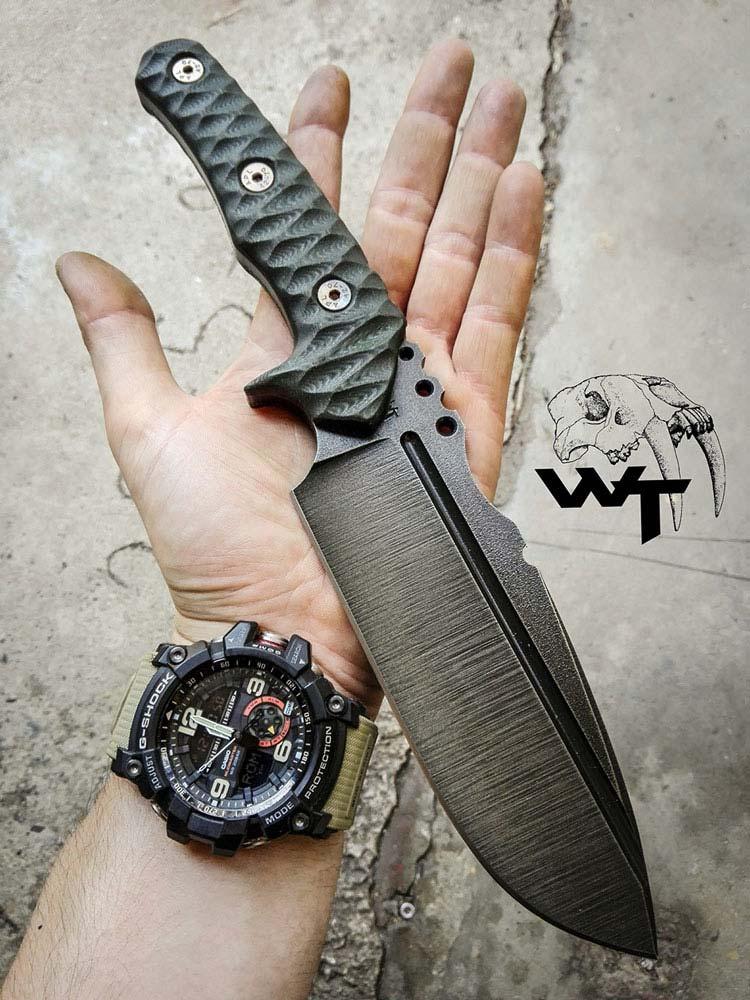 Dodatkowe zdjęcia: Nóż Uro (Bos Taurus) - Wander Tactical