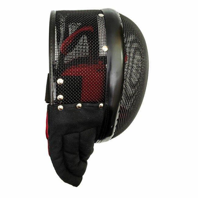 Dodatkowe zdjęcia: Maska turniejowa Red Dragon HEMA Tournament Fencing Mask - 1600N