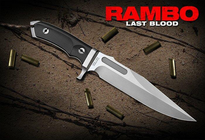 Dodatkowe zdjęcia: Nóż Rambo V Ostatnia Krew Hollywood Collectibles Group