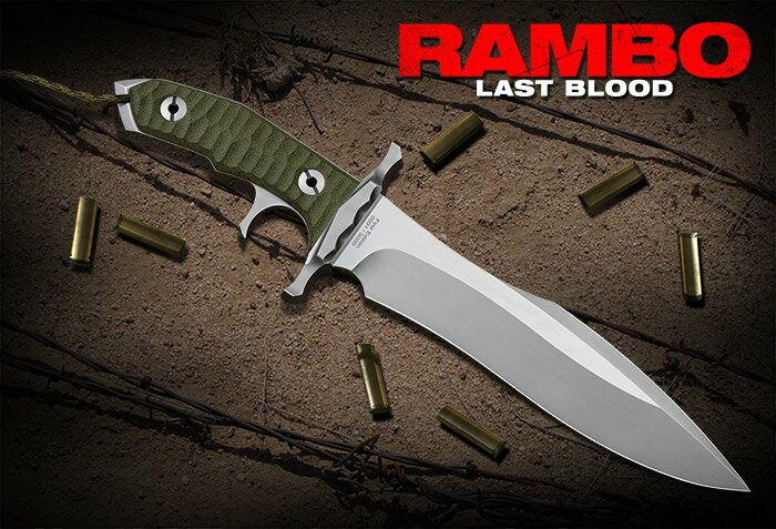 Dodatkowe zdjęcia: Nóż Rambo V Ostatnia Krew Heartstopper Hollywood Collectibles Group