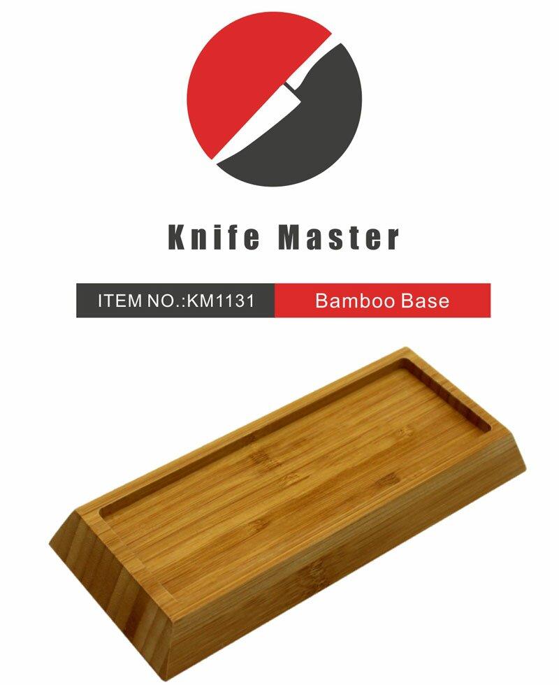Dodatkowe zdjęcia: Bambusowa podstawka do japońskich kamieni wodnych Knife Master