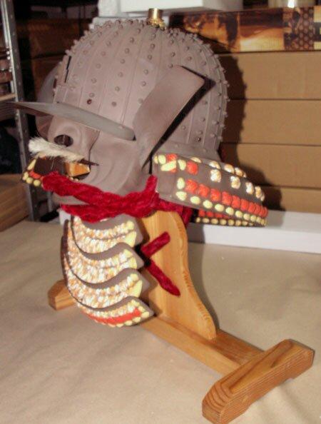 Hełm samuraja Daisho Kake Kabuto & Mempo AH2081