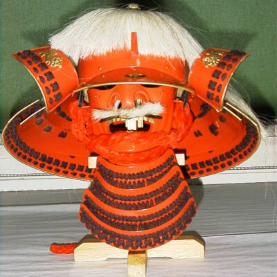 Hełm samuraja Takeda Shingen Kabuto & Mempo AH2082