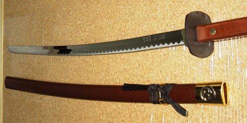 Dodatkowe zdjęcia: Full Tang Samurai Katana Sword - 24-K Gold