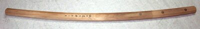 ``HONEST`` Wood Katana Sword