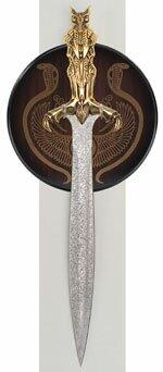 Bast - Egyptian Short Sword - 24-K Gold Special Edition