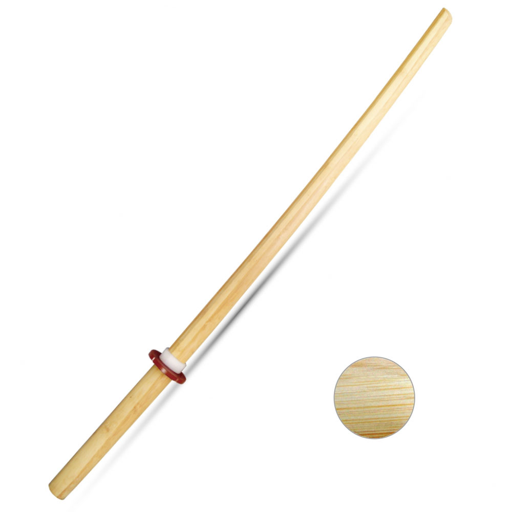 Boken bambusowy z tsubą