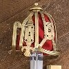 Brass Basket Hilt Claymore  - 500922s