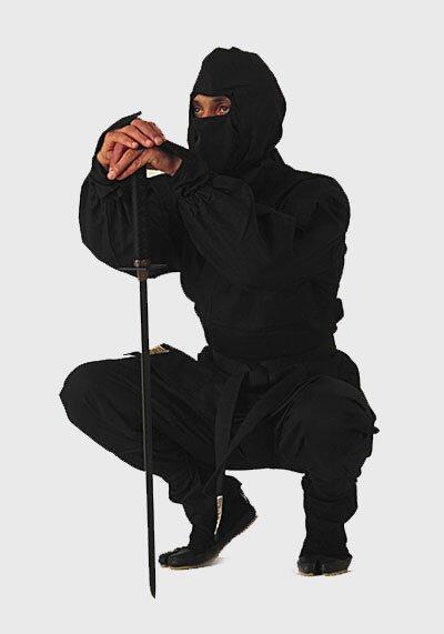 Czarny Strój Ninja - GTTA503_150