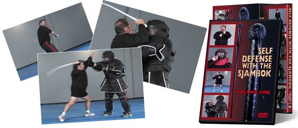 DVD Cold Steel Self Defense With The Sjambok