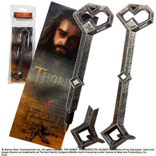 Długopis - klucz Thorina z filmu Hobbit Noble Collection
