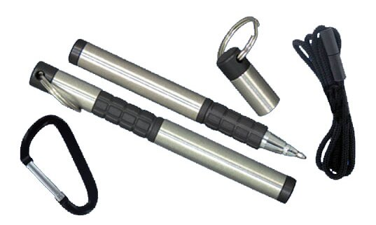 Długopis kosmiczny - Trekker Space Pen with Carabiner and Lanyard