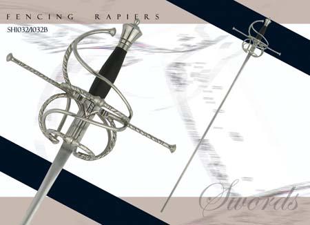 Fencing Rapier - Schlaeger Blade