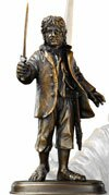 Figurka Bilbo Bagginsa z filmu Hobbit Noble Collection - NN1203