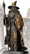 Figurka Gandalfa z filmu Hobbit Noble Collection - NN1208
