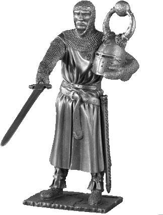 Figurka Sagramore - Rycerze Okrągłego Stołu - Les Etains Du Graal