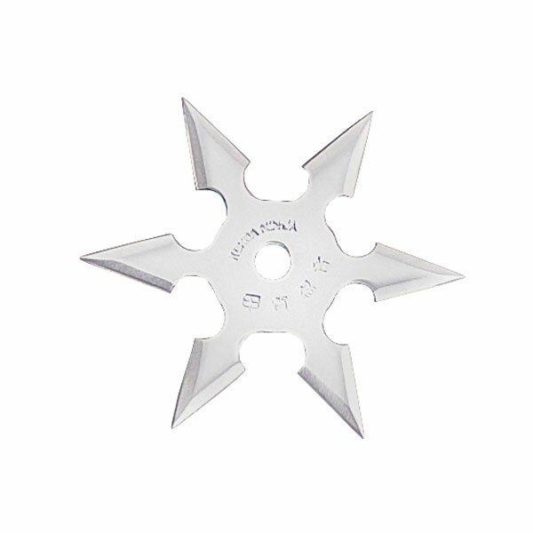 Gwiazdka Ninja Professional Throwing Star 6Pt SS 4`` w/pouch