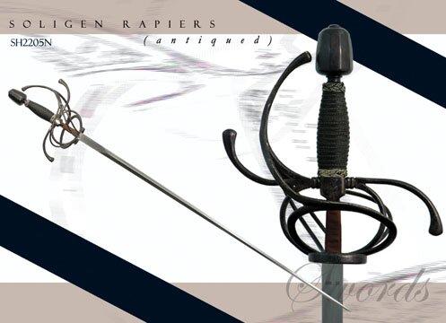 Hanwei Rapier Solingen (antiqued)