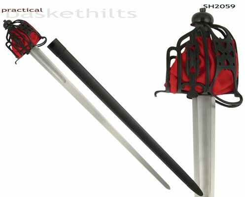 Hanwei Practical Basket Hilt Broadsword