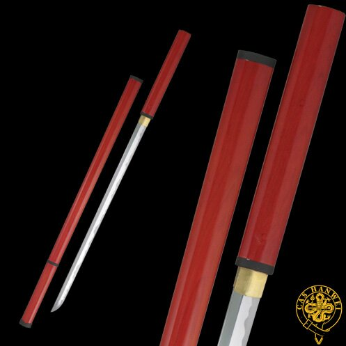 Hanwei Zatoichi Stick/Sword (Red Scabbard)