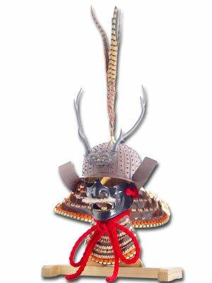 Hełm samuraja - Daisho Kake Kabuto & Mempo
